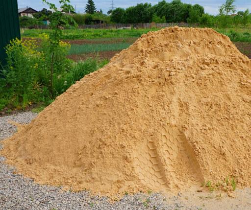 Природный песок